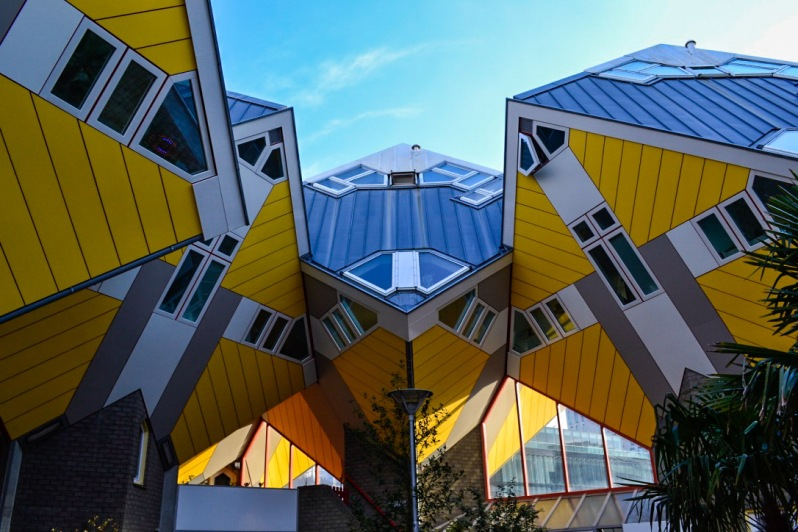 Cube Houses 1