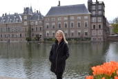 In front of Dutch parliament