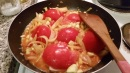 Some tomato concoction I made with potatoes, onion, and chicken